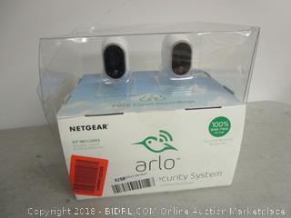 Arlo Netgear Security System