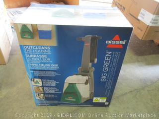 Bissell Big Green Professional Carpet Cleaner Machine, 86T3 (Retail $349.00)