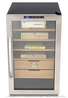 Whynter CHC-251S Stainless Steel 400-Cigar Cooler Humidor, 2.5 Cubic Feet (Retail $256.00)