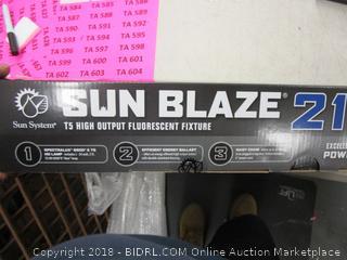 sun blaze fluorescent fixture
