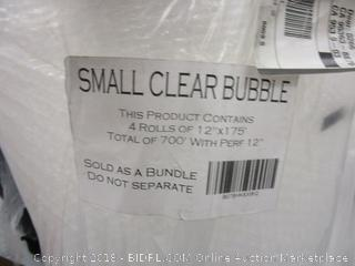 small clear bubble