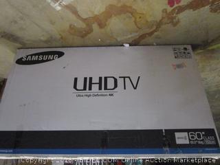 "Samsung UHD TV 60""  Powers on"