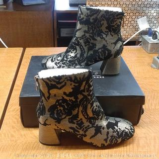 Rose Pewter Boots  7.5