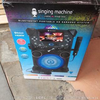Singing Machine Bluetooth Portable HD Karaoke System