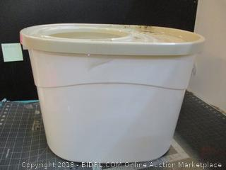 Top Entry Cat Litter Box / used see pictures