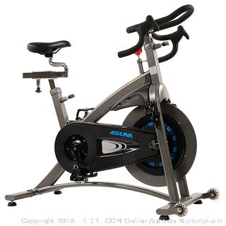 Sunny Health & Fitness ASUNA 5100 Magnetic Belt Drive Commercial Indoor Cycling Bike (Retail $567.00)