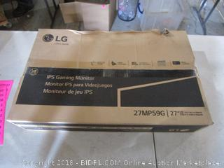 LG IPS Gaming Monitor 27""