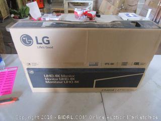 "LG UHD 4K Monitor 27"""