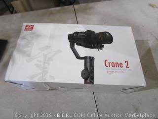 Crane 2 Axis Stabilizer with Follow Focus