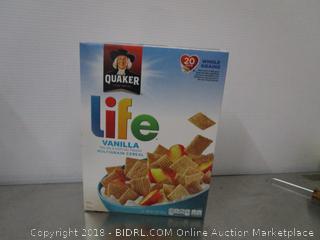 Quaker Life Vanilla Cereal