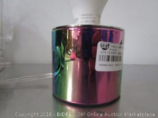 Vintage Bulb Rainbow Lamp