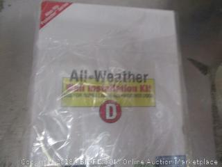 All Weather Wall Installation Kit