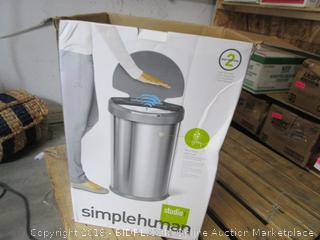 Simple Human Trash Can