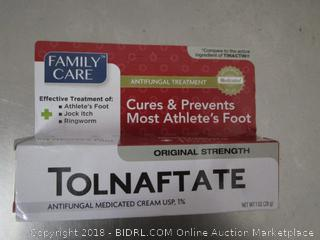 Tolnaftate Cures Athletes Foot