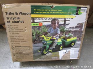 Trike & Wagon John Deere
