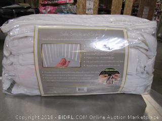 Baby Skirt Minky White 38 Pack