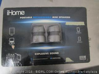 iHome Portable Mini Speaker