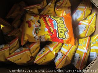 Flaming Hot Cheetos Puffs (box of 18)
