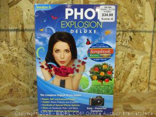 Photo Explosion Deluxe Version 5 The Complete Digital Photo Studio
