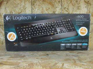 Logitech Wireless Illuminated Keyboard