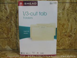 Smead 1/3-cut tab Folders