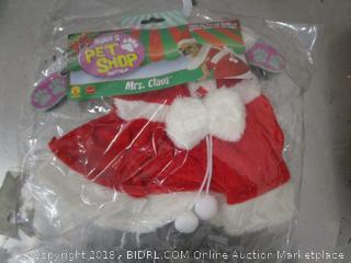 Pet Shop Santa Outfit