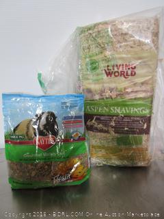 Guinea Pig Food & Shavings