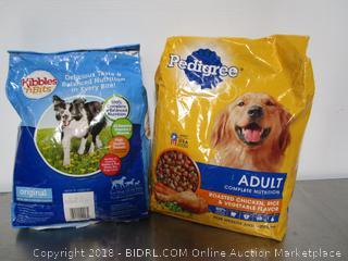 Pedigree & Kibbles n' Bits Dog Food