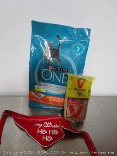 Lot Purina One Cat Food Victor Mouse Trap & Bandana
