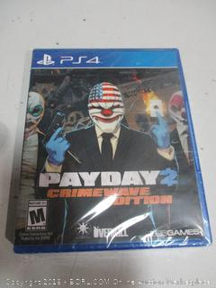Payday Crimewave Edition PS4