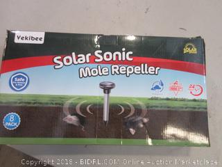 Solar Sonic Mole Repeller