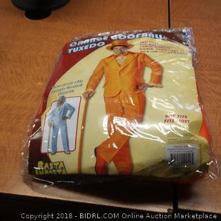 Orange Goofball Tuxedo  Costume