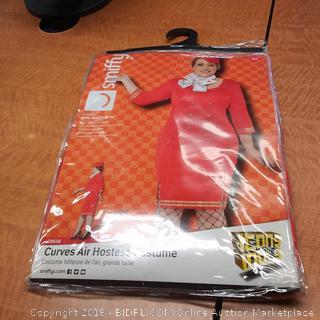 Curves Air Hostess Costume