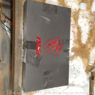 MSI Gaming Laptop (Powers On)