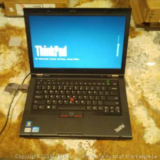 Lenovo Thinkpad Laptop (Powers On)