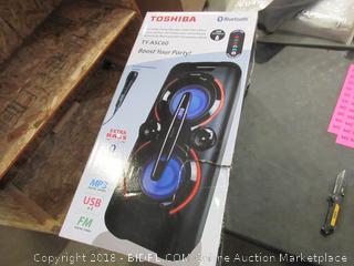 Toshiba Bluetooth Portable Party Speaker W/ Extra Bass