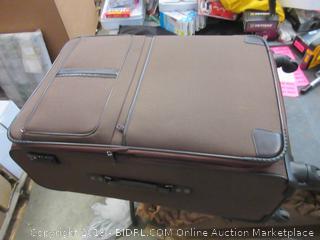 Coolife Luggage 3 Pc. Set Suitcase Softshell