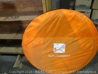Xl Pop Up Dome Family Backpacking Hiking Pet