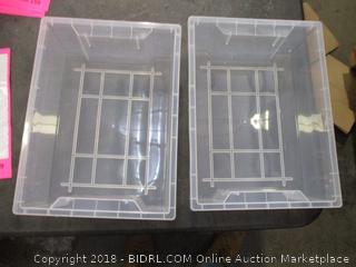 Plastic Open Tub