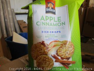 Popped Rice Crisps Apple Cinnamon