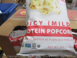 Square Organics Spicy (Mild) Protein Popcorn