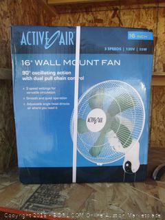 wall mount fan