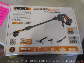 Worx HydroShot power sprayer