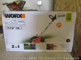 Worx lawn edger/trencher