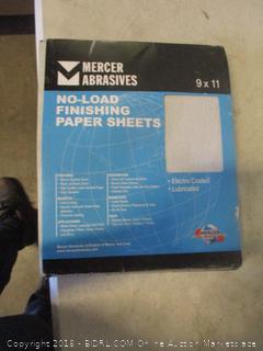 no-load finishing paper sheets