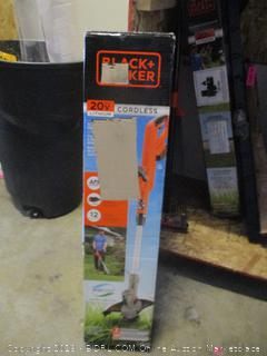 black+decker string edger/trimmer