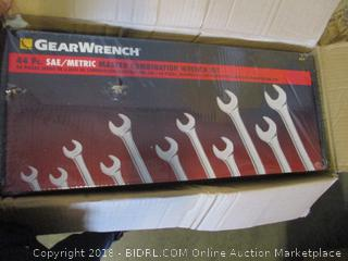 metric master combination wrench set