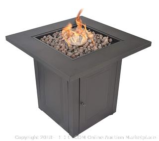 Legacy Heating 28-Inch Square Fire Table, Mocha RETAIL: $199.00