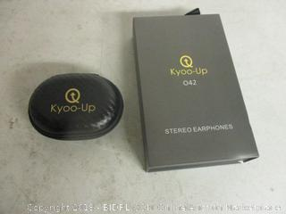 Kyoo-Up stereo earphones