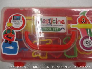 Plasticine Tool Set